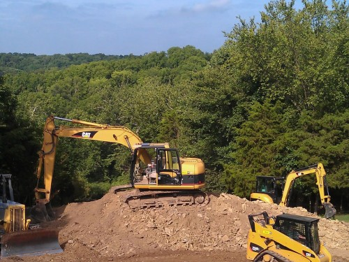 Commercial Excavation in Dayton Cincinnati Columbus Ohio Kentucky Indiana