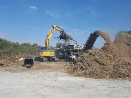 Commercial Land Clearing Site Work in Dayton Cincinnati Columbus Ohio Kentucky Indiana