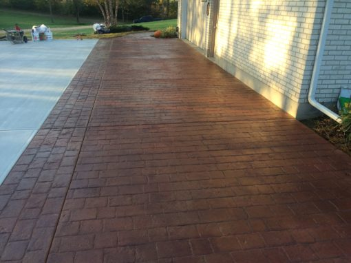 Residential Driveways in Dayton Cincinnati Columbus Ohio Kentucky Indiana